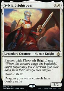 Sylvia-Brightspear-FOIL-NM-Prerelease-Promo-Magic-MTG