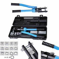 Heavy Duty 4-70mm 8T Manually Hydraulic Crimper Crimping Tool X8L4