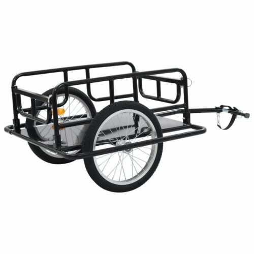 vidaXL Fahrradanhänger Lastenanhänger Transportanhänger Anhänger Handwagen
