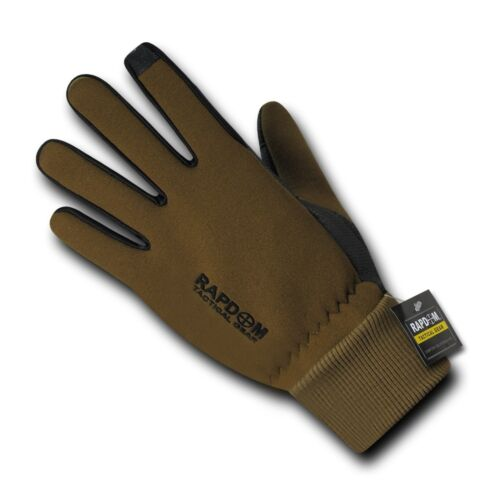 Rapid Dom Flexible Touch-Screen Gloves w//Cuff Tactical Patrol Military
