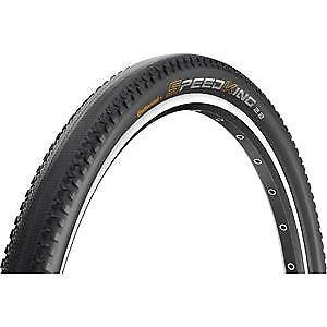 "Continental Speed King II RaceSport 27.5 x 2.2/"" Black Chili Folding Tyre black"