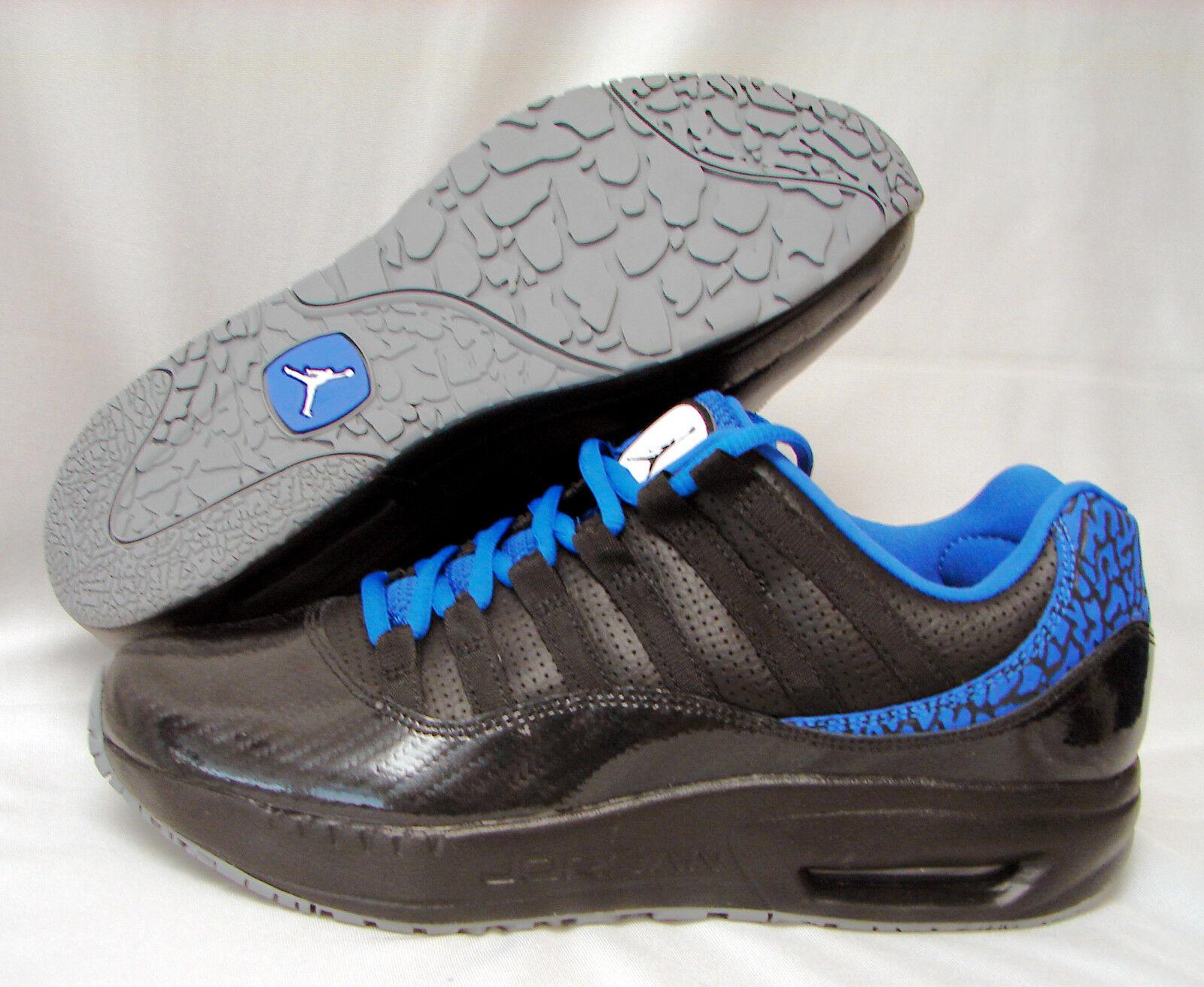 NIKE AIR JORDAN CMFT VIZ XI Men's Basketball shoes-Black Varsity Royal-NWOB