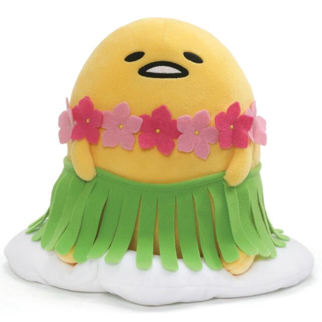 Gudetama The Lazy Egg Hula Skirt 28cm Plush