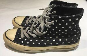 8a90123140dc Converse Chuck Taylor All Star polka-dot suede high-top sneaker Wo ...