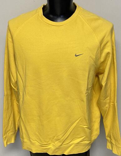 Vintage Nike Sweatshirt Marigold Color Swoosh 90s