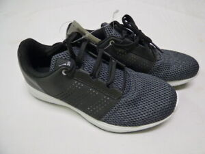 Adidas-Men-039-s-Madoru-Black-Leather-Knit-Athletic-Running-Sneakers-Size-9-NEW