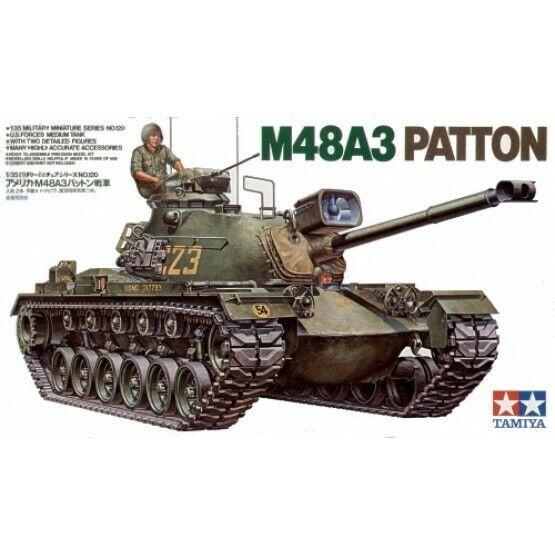 Tamiya M48A3 Patton Tank 35120 1/35 U.S.