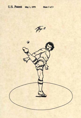 Official Hacky Sack US Patent Art Print Vintage 1979 Wham-O Hackey Original 285