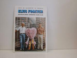 Elvis-Forever-Fan-magazin-heft-22-July-August-1981