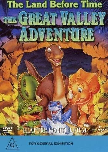 The Land Before Time - The Great Valley Adventure : Vol 2 (DVD, 2004)