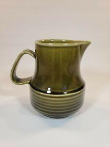 Vintage-Rich-Brown-Pottery-Creamer-4-25-034-X-3-5-034