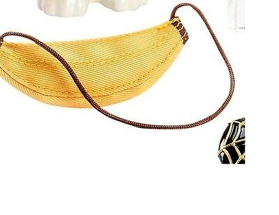 NEW  CHARLOTTE OLYMPIA BARBIE DOLL BANANA PURSE PURSE ONLY