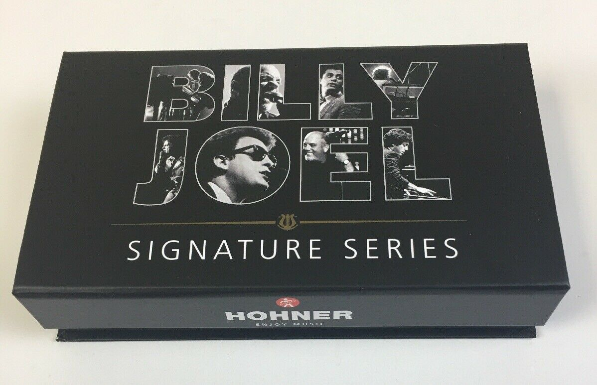 Hohner Billy Joel Signature Series Harmonica - Key of C