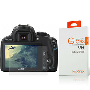 Nacodex Ballistic Tempered Glass Screen Protector For Canon 100D / G1 X Mark II