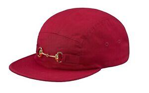 Supreme-Horsebit-Camp-Cap-Red-FW17