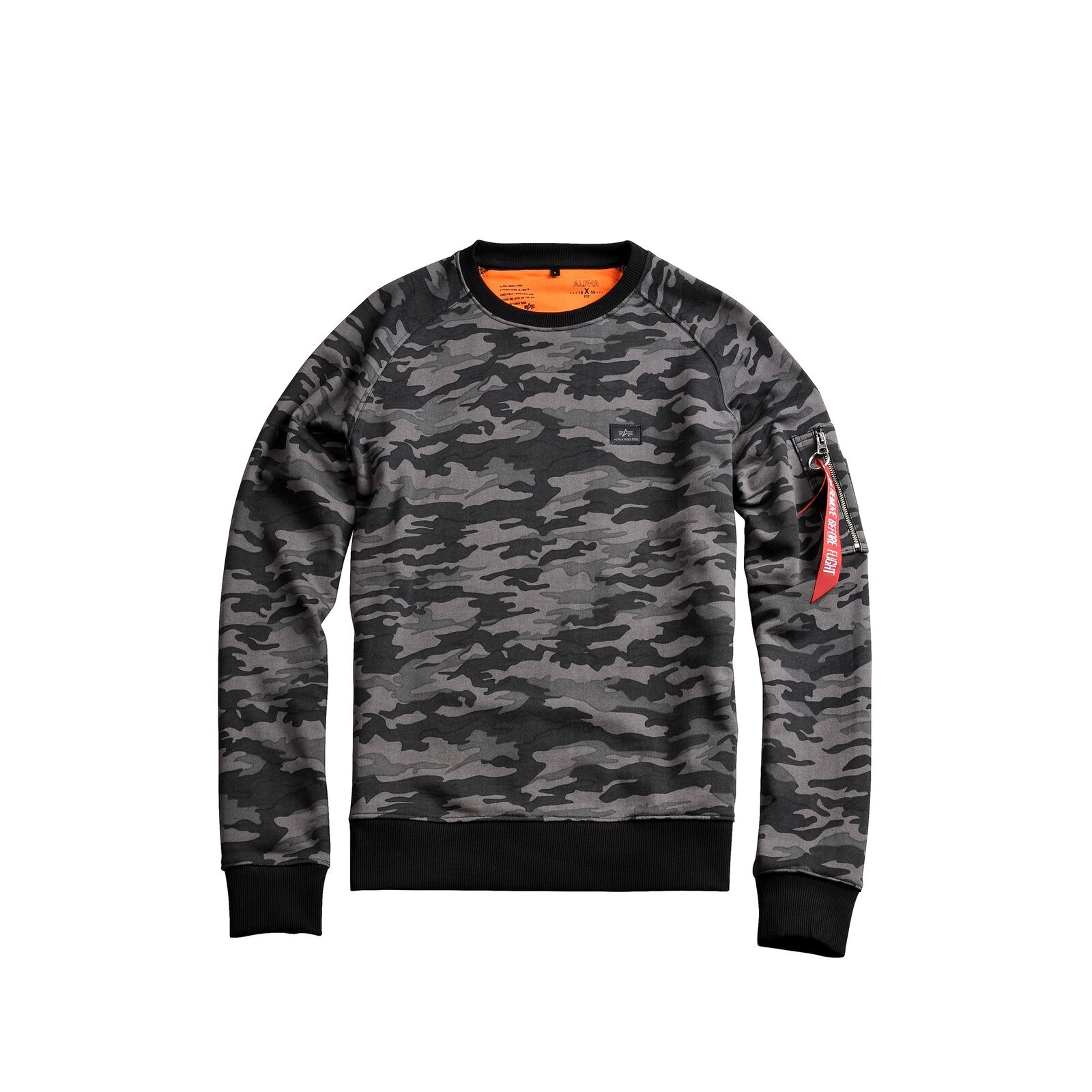 Alpha Industries Men's Sweatshirt x-Fit Camo