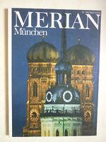 Reisemagazin MERIAN. MÜNCHEN   Heft 12 /1982   35.Jahrgang