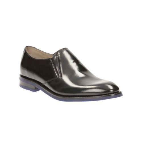Step Slip Clarks Leather Black 10 5 on Swinley G Mens Uk qCXw6