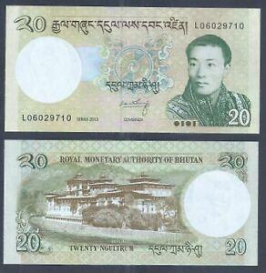 Bhutan-2013-20-Ngultrum-UNC-2013-20-L06029710