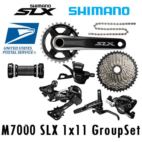 Shimano SLX M7000 1x11 Speed Groupset 32 34 Cassette 40T 42T 46T With Brake Set