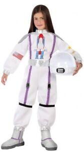 DernièRe Collection De Filles Garçons Outer Space Astronaute Explorateur Fancy Dress Costume Outfit 3-12 Ans-afficher Le Titre D'origine Prix ModéRé