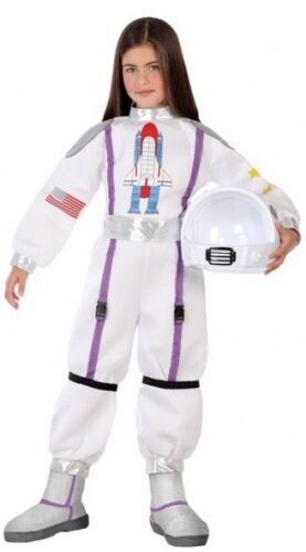 Girls Boys Outer Space Astronaut Explorer Fancy Dress Costume Outfit 3-12 years