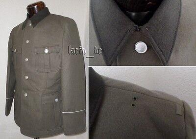 DDR frühe NVA Uniform Jacke mit schwarzen Kragen v. 1965 East german army jacket
