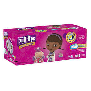 Huggies Pull-Ups Training Plus for Girls *PICK SIZE*
