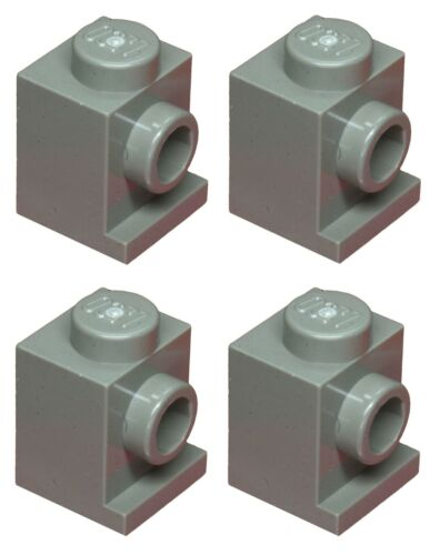 Missing Lego Brick 4070 OldDkGray x 4 Brick 1 x 1 with Headlight