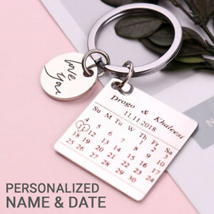 Details About Personalized Gifts For Him Husband Boyfriend Men Anniversary Keyring Gift K40