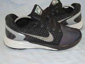 Dettagli su Curata Nike Lunarglide 7 h2o Repel Flash structure Sneaker Scarpe da Ginnastica Taglia 41 mostra il titolo originale