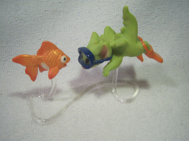 Pocket Dragon   ' GLUB GLUB & FLIPPERS '    Mint.  RARE