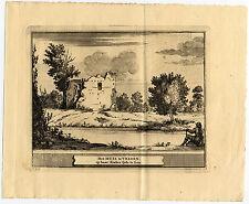 Antique Print-VELSEN-KASTEEL-NETHERLANDS-Schijnvoet-Roghman-1754