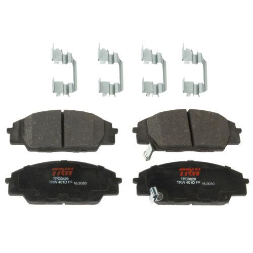 Disc Brake Pad Set-Premium Disc Brake Pad Front TRW TPC0829