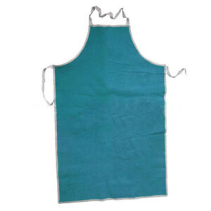 28-WX39-L-Leather-Bib-Welding-Apron-Heat-Insulation-Protection-Safety-Apron-Blue