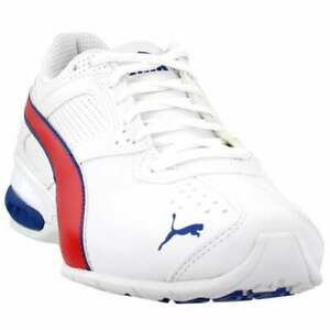 Puma-Tazon-6-FM-Lace-Up-Sneakers-Casual-White-Mens
