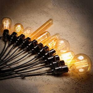 Vintage-Filament-Ampoule-Edison-Antique-Industriel-Lampe-40W-Eclairage-Decors