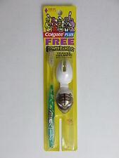Power Rangers White Ranger Colgate Toothbrush & Helmet RARE New In Package 1995