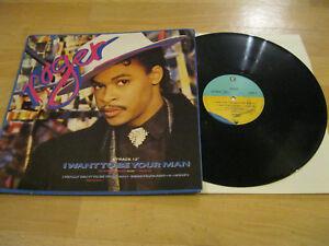 Maxi-Single-LP-Roger-I-want-to-be-your-Man-Vinyl-Schallplatte-WEA-920771-0