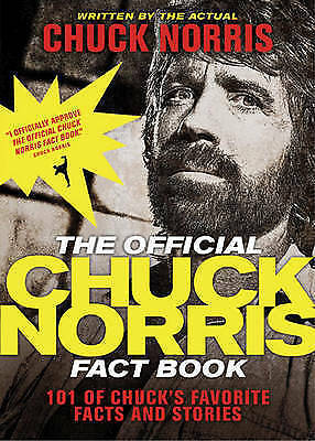 1 of 1 - (Good)-OFFICIAL CHUCK NORRIS FACT BOOK THE (Paperback)-NORRIS CHUCK-1414334494