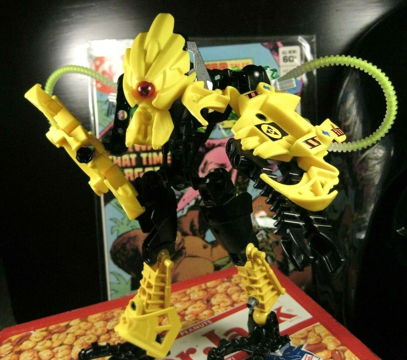 Rare LEGO Bionicle Toxic Hero Factory Meltdown Buildable Figure Toy 7148