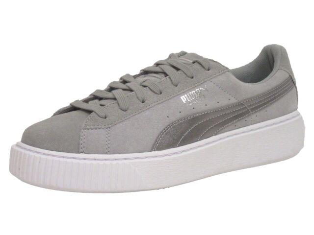 33a2eeb5ce369 PUMA Women's Suede Platform Safari Sneaker 10 M Quarry/quarry