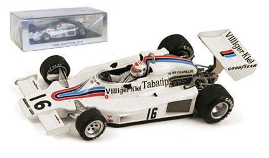 SPARK S3830 SHADOW DN8 austriaca GP 1977-Arturo Merzario scala