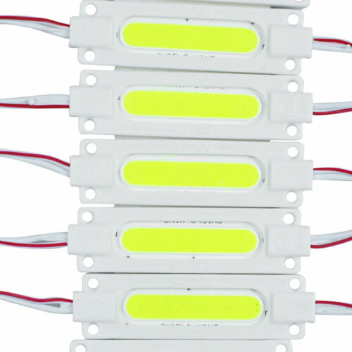 12V Superbright COB LED Module Light Lamp IP65 Waterproof 1.5W Injection ABS