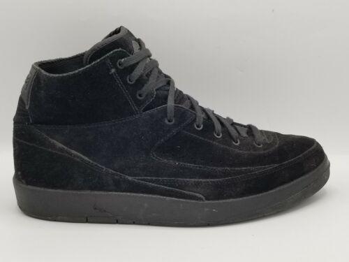 Nike Men's Air Jordan 2 Triple Black Sz 9.5 897521