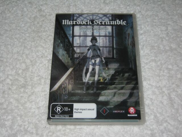 Mardock Scramble - The First Compression - Complete Edition - Like New - R4 DVD