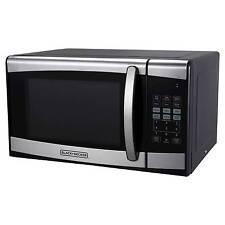 900 Watt Microwave Oven Stainless Steel Black Decker 153 174 0 9cu Ft