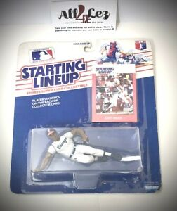 """1988 WHITE SOX GARY REDUS """"GREY JERSEY"""" STARTING LINEUP FIGURE w/ CARD ~ NEW"""
