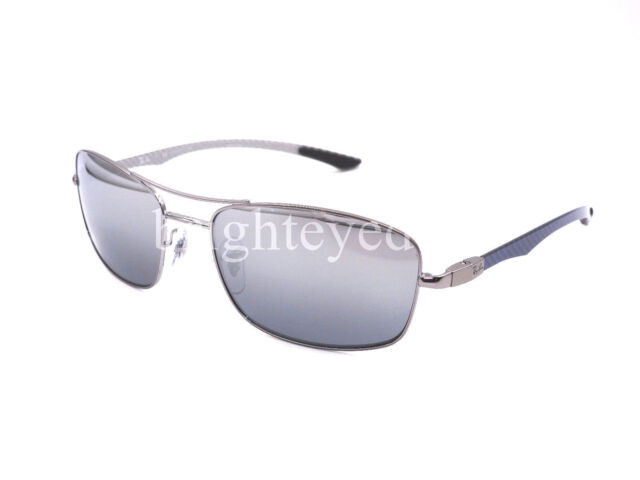 df08ba02b Authentic RAY-BAN 8309 - 004/82 Sunglasses Polarized Silver Mirror *NEW*