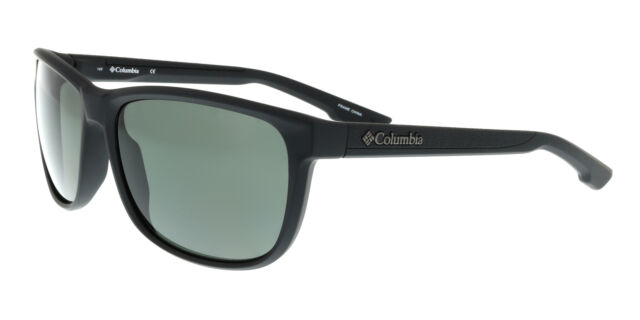 NEW Columbia C115S-PIKE-LAKE-002-5918 Matte Black Smoke Sunglasses